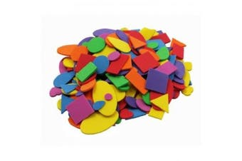 Foam Shapes Asst Colours 720 Pcs