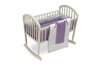 Baby Doll Royal Cradle Bedding Set, Lavender