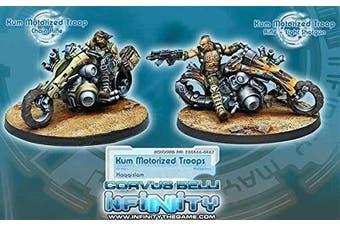 Haqqislam Kum Motorcycle Motorised Troops Miniature Corvus Belli