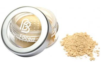 (Gracious) - Barefaced Beauty Travel-Size Mineral Foundation, Gracious 2.5 g