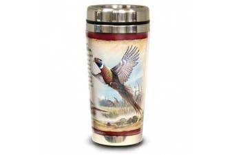 (Common Pheasant) - American Expedition Wildlife Steel Travel Mug