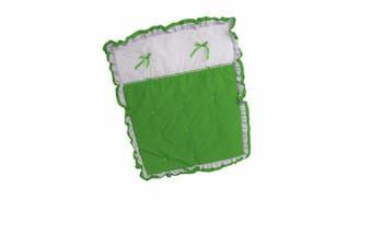 Baby Doll Regal Crib Comforter, Green Apple
