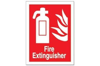 Stewart Superior Safe Condition & Fire Equipment Sign Fire Extinguisher 200x150mm