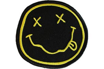 Application Nirvana Smiley Patch