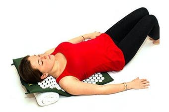 Nayoya Acupressure Mat for At Home Back Pain Sciatica Fibromyalgia Relief