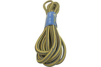 (120cm, Reflective - Yellow) - Big Laces Round Hiking Boot Laces - 120cm and 150cm