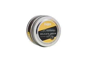 (134 - olive green) - Shoe Care Cream, Intensive Leather Care and Nourishing, Kaps Delicate, 70 colours
