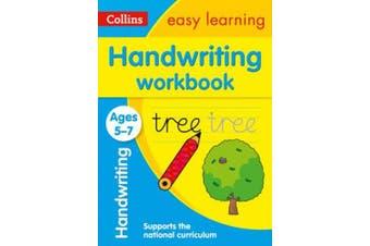 Handwriting Workbook Ages 5-7 (Collins Easy Learning KS1) (Collins Easy Learning KS1)