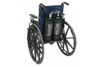 AdirMed Dual Oxygen Cylinder Bags for Wheelchairs (D & E Cylinders)