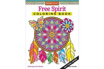 Free Spirit Coloring Book (Coloring Activity Book)