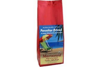 (Marooned, Light Roast) - Marooned, Alone on an Island, Light Roast, Certified Organic Rain Forest Alliance Fair Trade Coffee, 240ml Ground (Drip Grind)