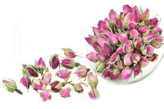 (30ml) - Chinese Tea Culture, Pink Rose Bud Loose Leaf Tea, for Constipation, Body Toxins, Skin, Acne, Blood Circulation, Herbal Tea, Organic Tea, 60ml