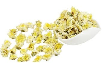 Chinese Tea Culture, Chrysanthemum Loose Leaf Tea, for Organs, Common Cold, Flu, Head Congestion, Stress, Relaxation, Dryness & Itching of the Eyes, Herbal Tea, Organic Tea, 60ml