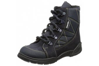 (30 EU (11.5 Baby UK), Blue - Blau (Turino ozean)) - Däumling Boys' Hansi - Manni First Walking Shoes Turquoise 50 (Turino petrol)