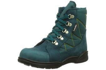 (20 EU (3 Baby UK), Blue (turino Petrol 50)) - Däumling Boys' Hansi - Manni First Walking Shoes Turquoise 50 (Turino petrol)