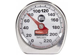 Rubbermaid Commercial FGTHP220DS Stainless Steel Dishwasher Safe Pocket Thermometer