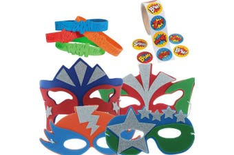 Super Hero Party Favour Supply Pack