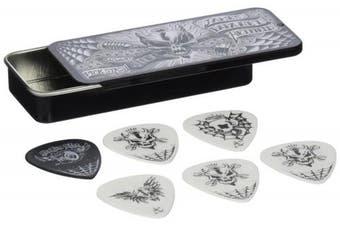 Dunlop James Hetfield Pick Tin with 6 Picks