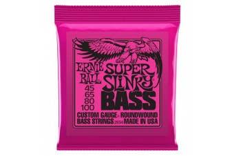 (Super, 4 string) - Ernie Ball Super Slinky Nickel Round Wound Bass Set, .045 - .100