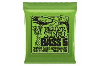 (Regular, 5 string) - Ernie Ball 5-String Regular Slinky Nickel Wound Bass Set, .045 - .130