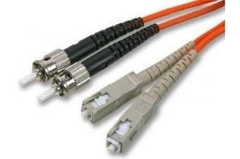 Cable-Core FIBRE OPTIC ST - SC PATCH LEAD CABLE 62.5/125um 3m