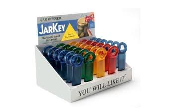 (5) - The Original JarKey by Brix - Worlds Easiest Jar Opener - Set of 5 Assorted Colours