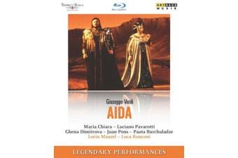 Aida: Teatro Alla Scala (Maazel) [Regions 1,2,3] [Blu-ray]