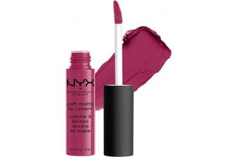 (Prague) - NYX PROFESSIONAL MAKEUP Soft Matte Lip Cream, High-Pigmented Cream Lipstick in Prague