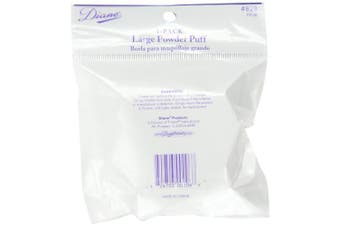 (2 pieces) - Diane 8.9cm Powder Puff - 2 pieces