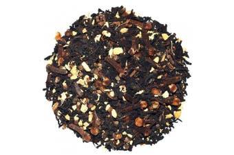 (60ml) - Chinese Tea Culture, Ginger Chai Tea, Masala Chai, Chai Loose Leaf Tea, for Stomach, Blood Circulation, Energy, Antioxidants, 150ml