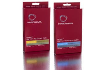 Connoisseurs® UltraSoft® Jewellery Polishing Cloth Set