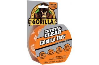 Gorilla Crystal Clear Tape 4.8cm X8.2m