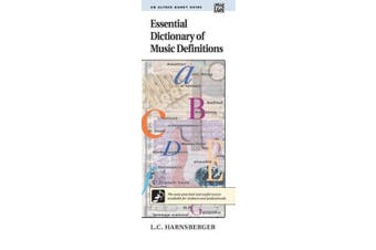 Essential Dictionary of Music Definitions: Handy Guide