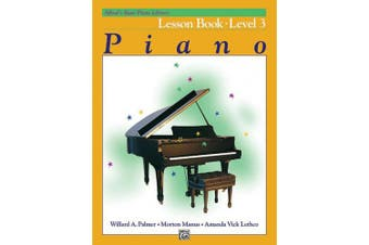 Alfred's Basic Piano Library Lesson Book, Bk 3 (Alfred's Basic Piano Library)
