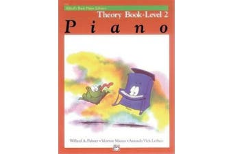 Alfred's Basic Piano Library Theory, Bk 2 (Alfred's Basic Piano Library)