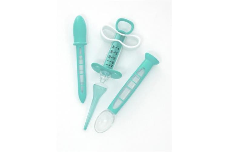 (Medicine Kit, Teal/White) - Summer Infant® Medicine Dispenser Kit