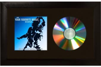 (7 x 12, Black) - Craig Frames 7x 12 Black CD Display Mat Complete w/ 2.5cm Wide Black Frame (CD1WB3BK)