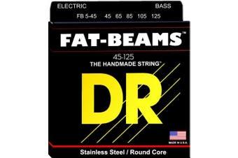 DR Strings FB5-45 Fat-Beams Bass 5 Strings Medium 45-125