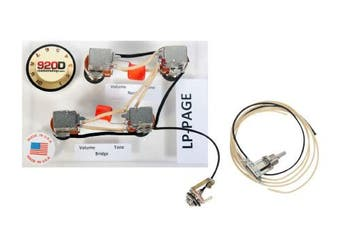 920D Custom Shop Les Paul Jimmy Page Wiring Harness w/Switchcraft Toggle