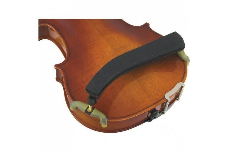 Kun Collapsible Violin Shoulder Rest 4/4 Black