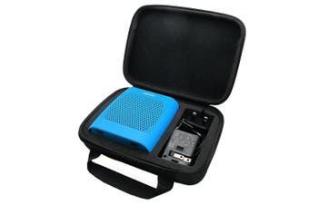 (Storage Case Black) - co2CREA(TM) for Bose Soundlink Colour Wireless Bluetooth Speaker Semi-Hard EVA Carrying Travel Storage Case Bag (Storage Case Black)