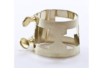 American Plating Gold Bari Sax Ligature