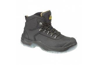 (14 UK, Black) - Amblers Steel FS199 Safety S1-P Boot / Mens Boots / Boots Safety (14 UK) (Black)