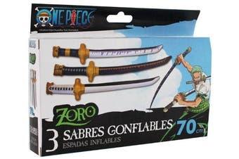 One Piece Zoro 3 Inflatable Swords