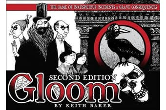 (1, Original Packaging) - Gloom Second Edition Card Game