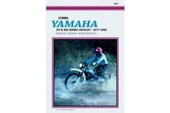 Yamaha DT and MX Series Singles, 1977-83: Clymer Workshop Manual