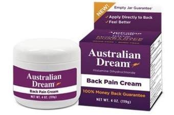 (1, 2 Ounce) - Australian Dream Back Pain Cream, 60ml