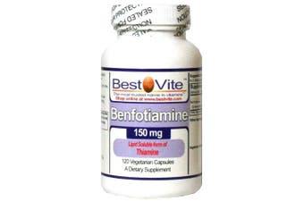Benfotiamine 150mg (120 Vegetarian Capsules)