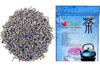 (60ml) - Chinese Tea Culture, Lavender Loose Leaf Tea, for Moisturise Skin, Healing Wounds, Herbal Tea, Organic Tea, 90ml