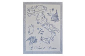 (Yellow) - Abbiamo Tutto Wines of Italy Collection Kitchen Towel, Yellow